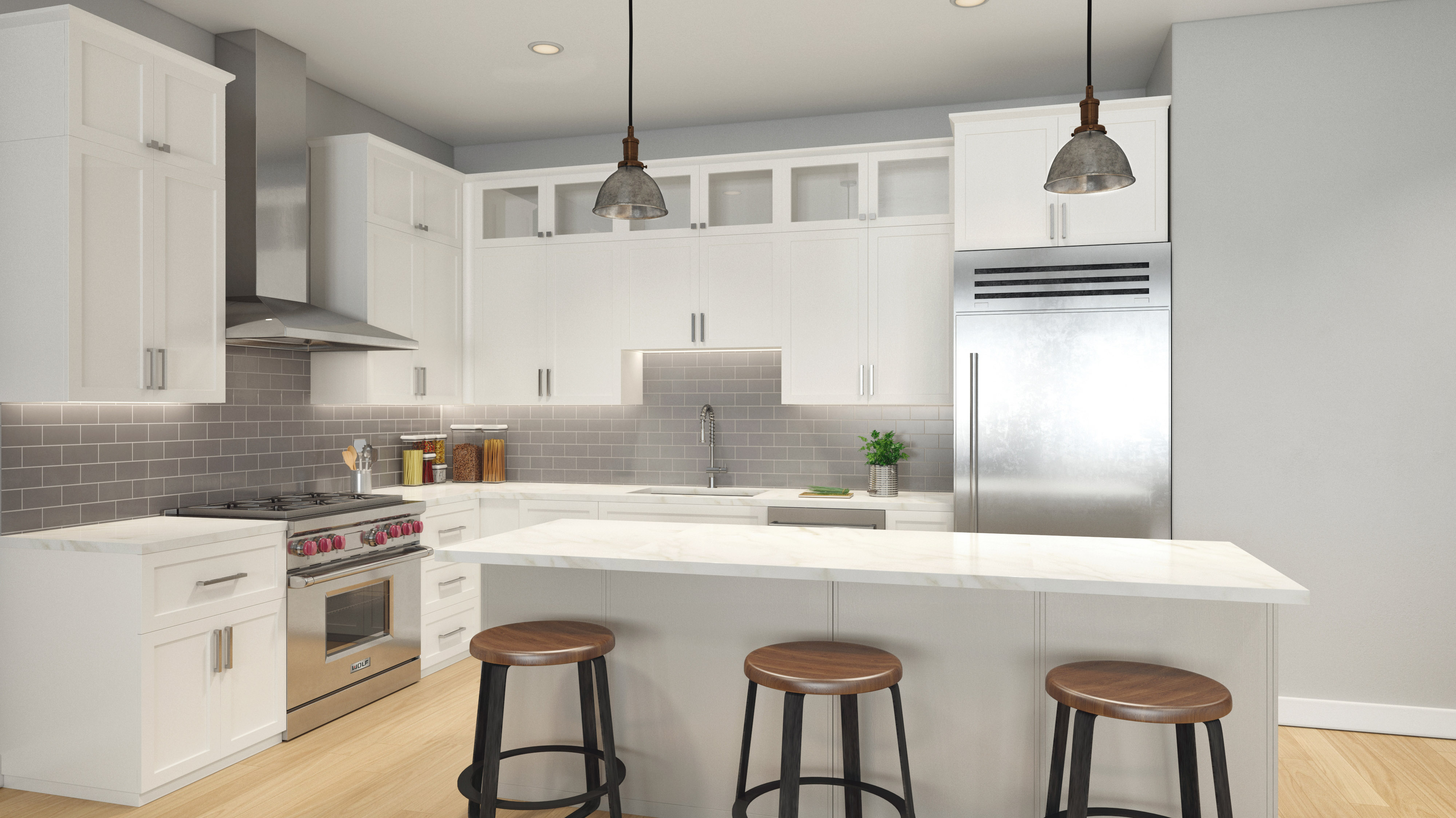Longford design construction projects for Kitchen and bath design melrose park